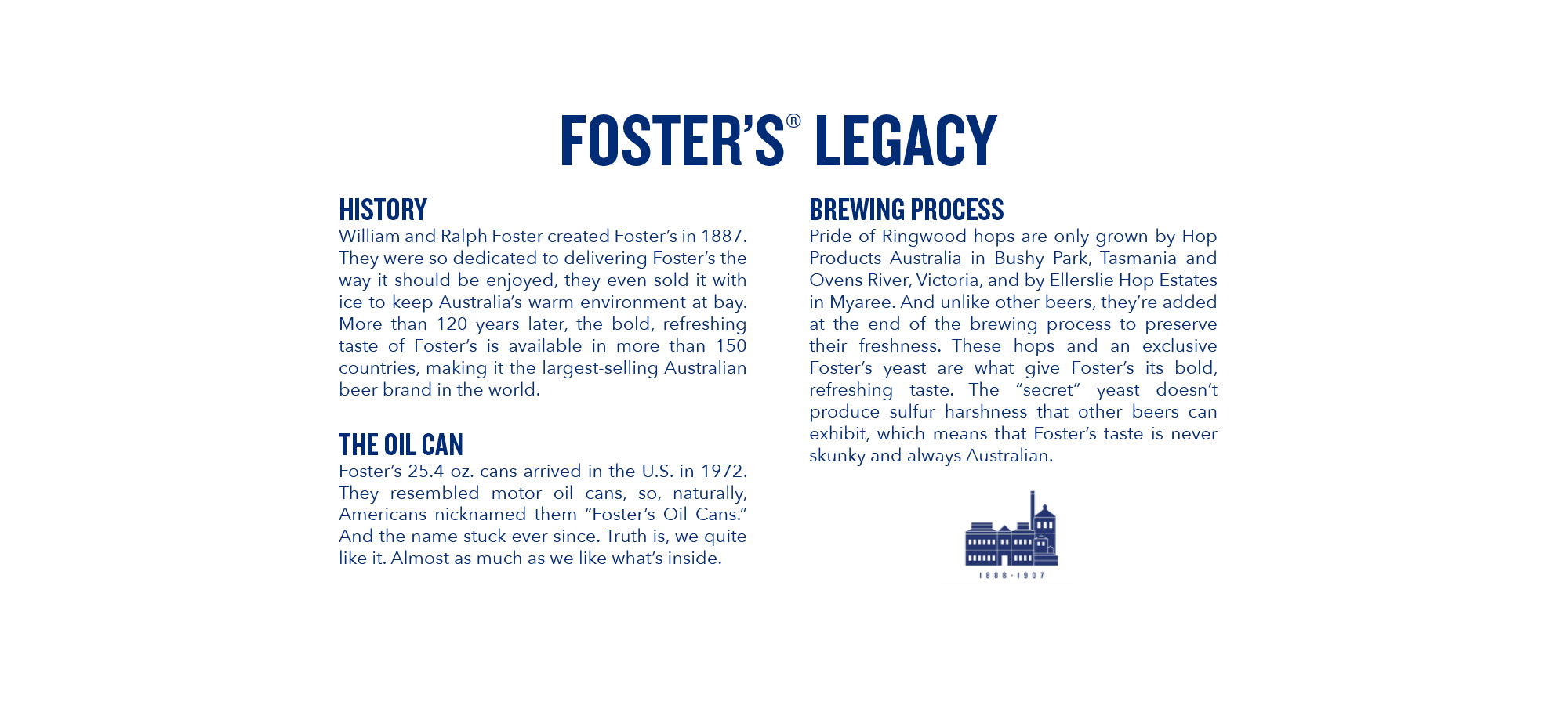Foster's Legacy
